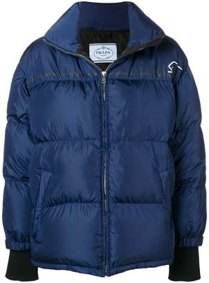 Prada short padded jacket