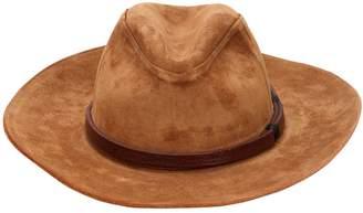Suede Brimmed Hat