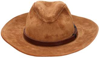 HTC Los Angeles Suede Brimmed Hat