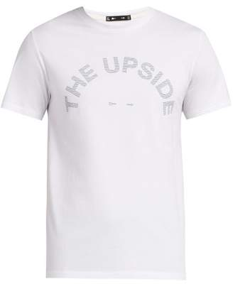 The Upside Newman Horseshoe Logo T Shirt - Mens - White