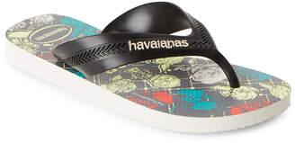 Havaianas Toddler/Kids Boys) Max Star Wars Flip Flops
