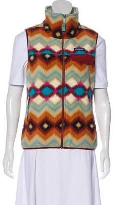 Patagonia Printed Zip-Up Vest
