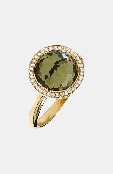 Ippolita 'Rock Candy' 18k Gold Cocktail Ring with Diamonds
