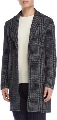 Altea Black Winston Wool Coat