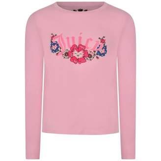 Juicy Couture Juicy CoutureGirls Pink Pansy Party Top