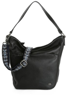 The Sak Cole Valley Leather Hobo Bag