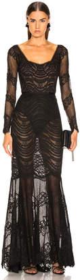 Jonathan Simkhai Lace Bustier Gown