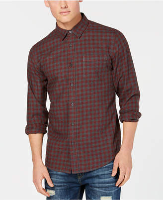 American Rag Men's Markus-Check Shirt, Created for Macy's
