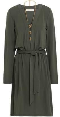 MICHAEL Michael Kors Chain-Embellished Stretch-Jersey Mini Dress