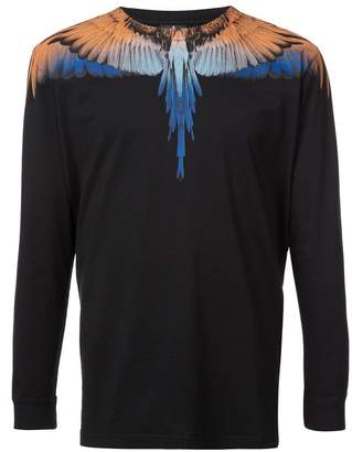 Marcelo Burlon County of Milan feather print T-shirt
