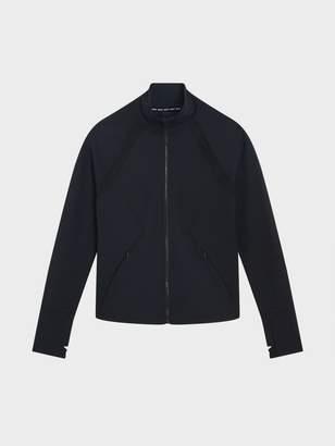 DKNY Mesh Inset Raglan Jacket Black/Cream XS