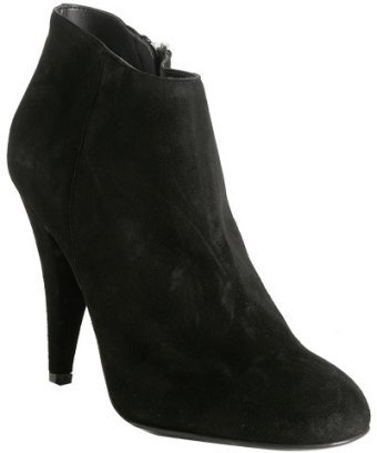 KORS Michael Kors black suede 'Pierce' ankle boots