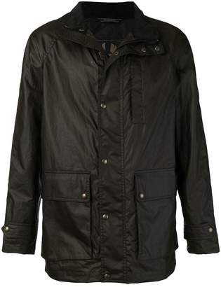 Belstaff high neck cargo jacket