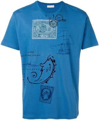 Etro travel print T-shirt