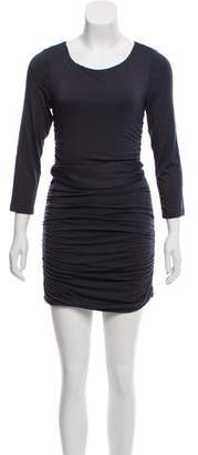 DREW Ruched Mini Dress