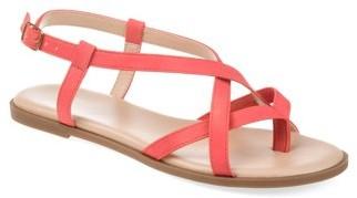 Brinley Co. Womens Comfort Multi-strap Gladiator Sandal