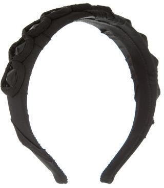 pradaPrada Satin Jewel Headband