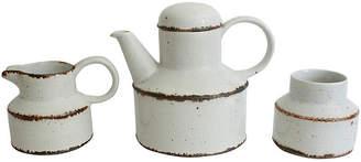 One Kings Lane Vintage English Stoneware Serveware - 3-Pcs