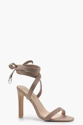 boohoo Wrap Strap D Ring Sandals