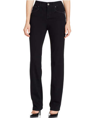 Style & Co Tummy-Control Straight-Leg Jeans, Only at Macy's $49 thestylecure.com