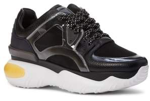 Fendi Fancy Lace-Up Sneaker