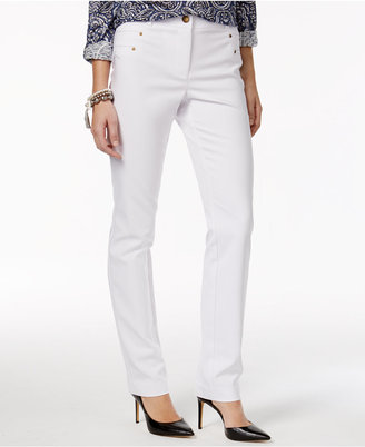 Style & Co Riveted Slim-Leg Pants, Only at Macy's $54.50 thestylecure.com