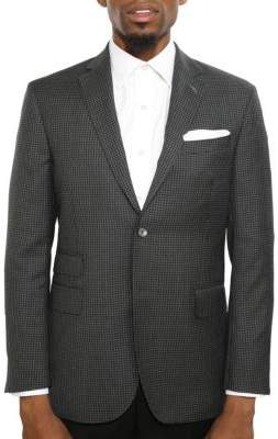 Michael Bastian Slim-Fit Checked Wool Jacket