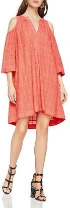 BCBGMAXAZRIA Regan Cold-Shoulder Dress $198 thestylecure.com
