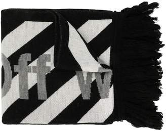 Off-White arrow scarf