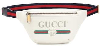 Gucci Printed leather belt bag