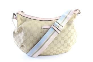 Gucci Pink Suede Handbags
