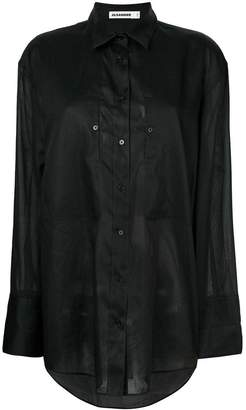 Jil Sander oversized button shirt