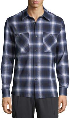 Slate & Stone Men's Heavy Flannel 2-Pocket Shirt