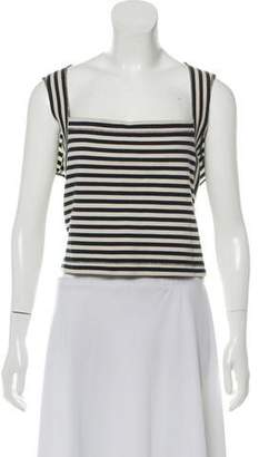 L'Agence Knit Striped Top