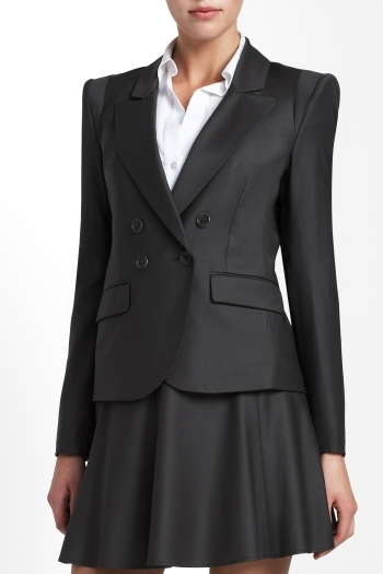BCBGMAXAZRIA Chyna Double-Breasted Jacket