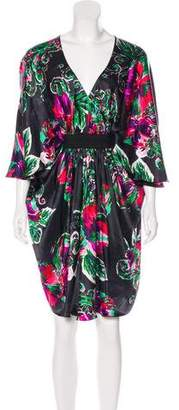 Paul & Joe Silk Floral Dress