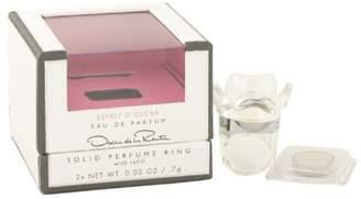 Oscar de la Renta ESPRIT D'OSCAR by for WOMEN: SOLID PERFUME RING WITH REFILL .02 OZ