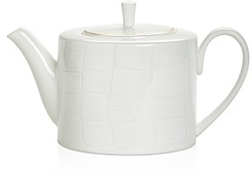 Domenico Vacca By Prouna Domenico Vacca by Prouna Alligator White Teapot