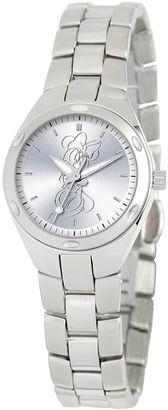 DISNEY Disney Minnie Mouse Womens Silver Tone Bracelet Watch-59006-1 $69.99 thestylecure.com