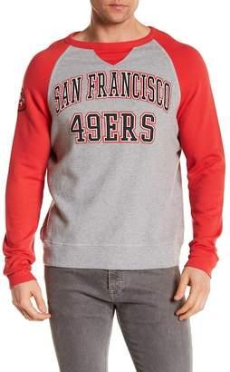 Junk Food Clothing San Francisco 49ers Raglan Pullover