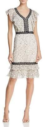 Nanette Lepore nanette Flounced Lace Dress