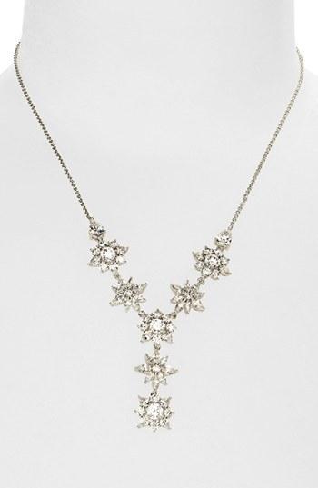 Nadri 'Flores' Y-Necklace
