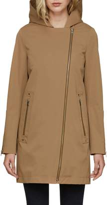 Soia & Kyo Straight Fit Trench Coat