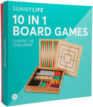 Sunnylife 10 in 1 Board Game Set