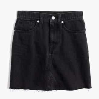 Madewell Denim Frisco Mini Skirt in Lunar Wash