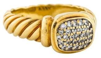 David Yurman 18K Diamond Noblesse Ring
