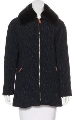 Beretta Jacquard Collared Jacket