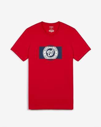 Express Washington Nationals Mlb Crew Neck T-Shirt