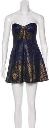 Tibi Brocade Strapless Dress w/ Tags