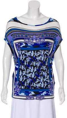 Versace Oversize Sleeveless Top